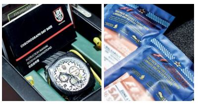 Prizes for the top team included Luminox Tony Kanaan timepieces and F1 tickets.