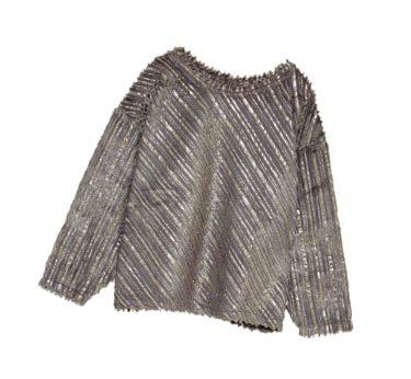 ZARA contrasting metallic sweatshirt, $89.90
