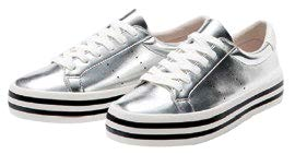Bershka Metallic Sneakers, $55.90
