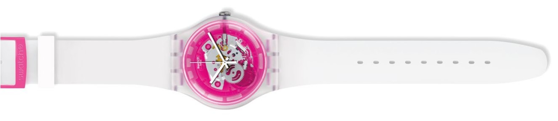 Swatch Pinkamazing, $109