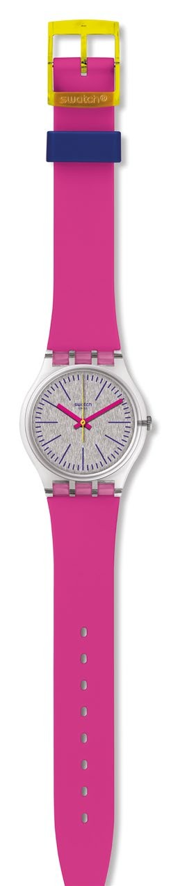 Swatch Fluo Pinky, $82