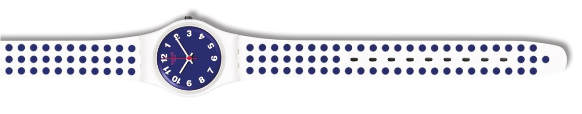 Swatch Blue Dots, $82