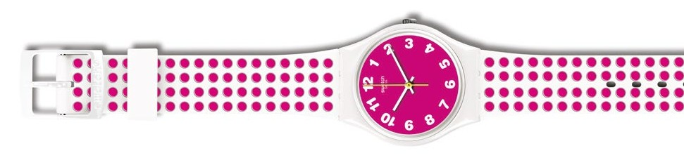 Swatch Pink Dots, $82