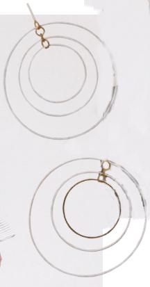 3. Earrings, Tory Burch