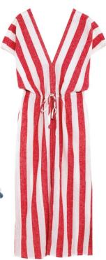 Cotton dress, $99.90, Zara.