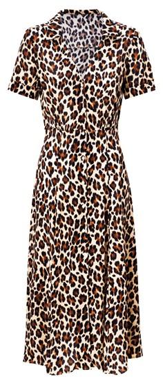 Viscose dress, $99.90, Mango.