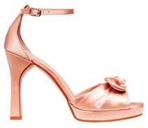 Satin sandals, $54.95, H&M.