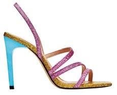 PU sandals, $69.90, Zara.