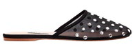 Attico leather and mesh with crystals, $780, On Pedder.