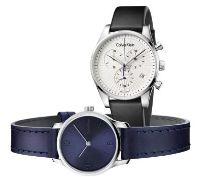 From top: Steadfast watch, $439; Endless watch, $269