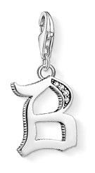 Letter B pendant, $81.