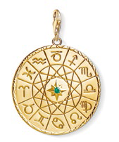 Star Sign Coin Gold pendant, $329.