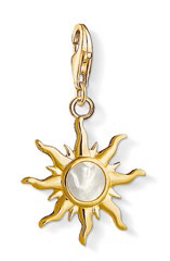 Sun with Mother-of-pearl Stone pendant, $129.