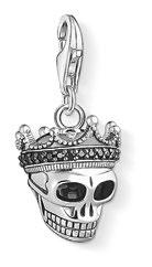 Skull King charm pendant, $179.