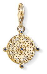 Vintage Compass pendant, $149.