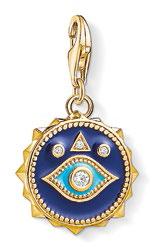 Blue Nazar Eye pendant, $169.