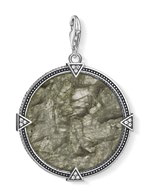 Vintage Coin Play of Colour pendant, $129.
