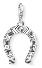 Horseshoe pendant, $129.