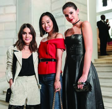 4. Camila Coelho, Aimee Song and Bruna Marquezine