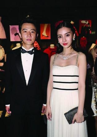 8. Huang Xuan and Angelababy