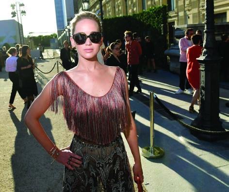 6. Jennifer Lawrence