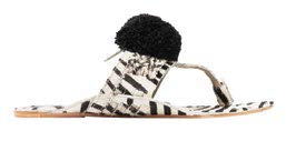 Figue calf hair sandals, $450