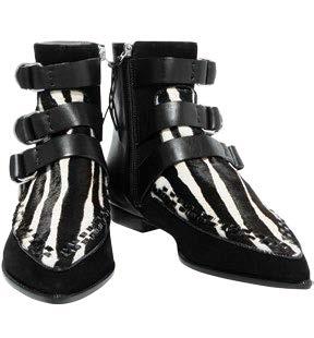 Isabel Marant zebra-print boots, $554
