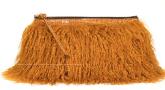 Faux fur clutch, $990 Dries Van Noten.