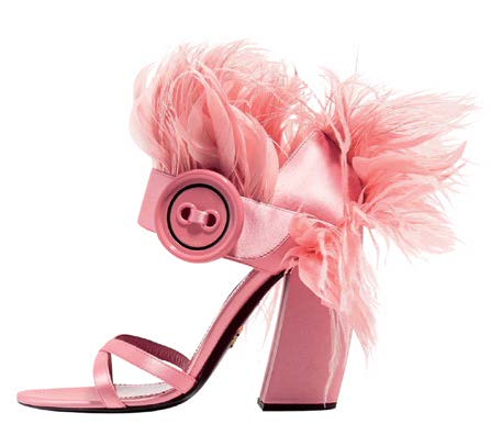 Shoes, $920, from Prada