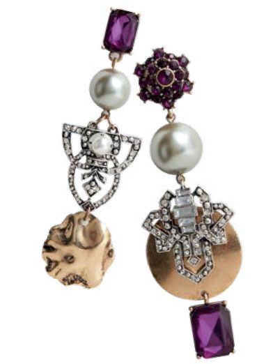 Earrings, $29.90, from Mango.