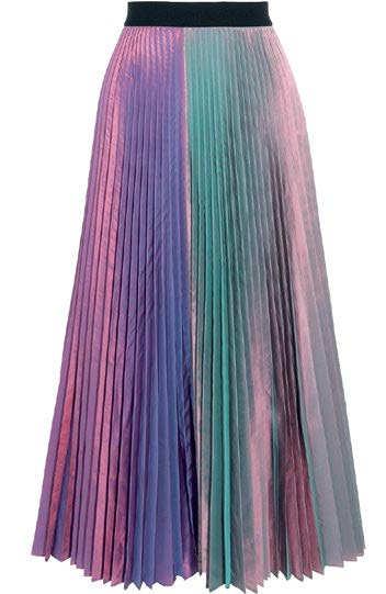 Christopher Kane skirt, $1,800, from Club 21 Ladies.