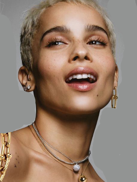 """Zoë Kravitz in Tiffany & Co.'s """"There's Only One"""" campaign"""
