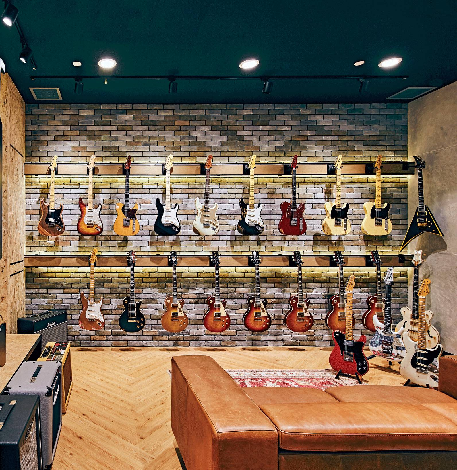 The Place for Bespoke Guitars, Vinyls and Music Lessons with Coffee, Dessert and Fashion