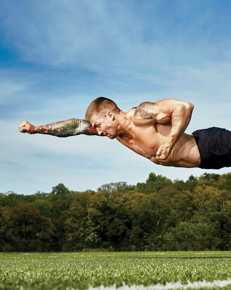 MASTER THE SUPERMAN PUSH-UP