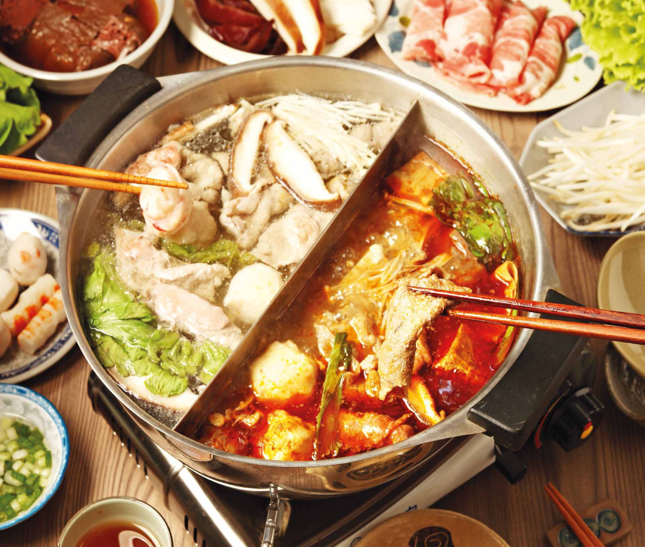 HOW MANY CALORIES ARE IN YOUR HOT POT?