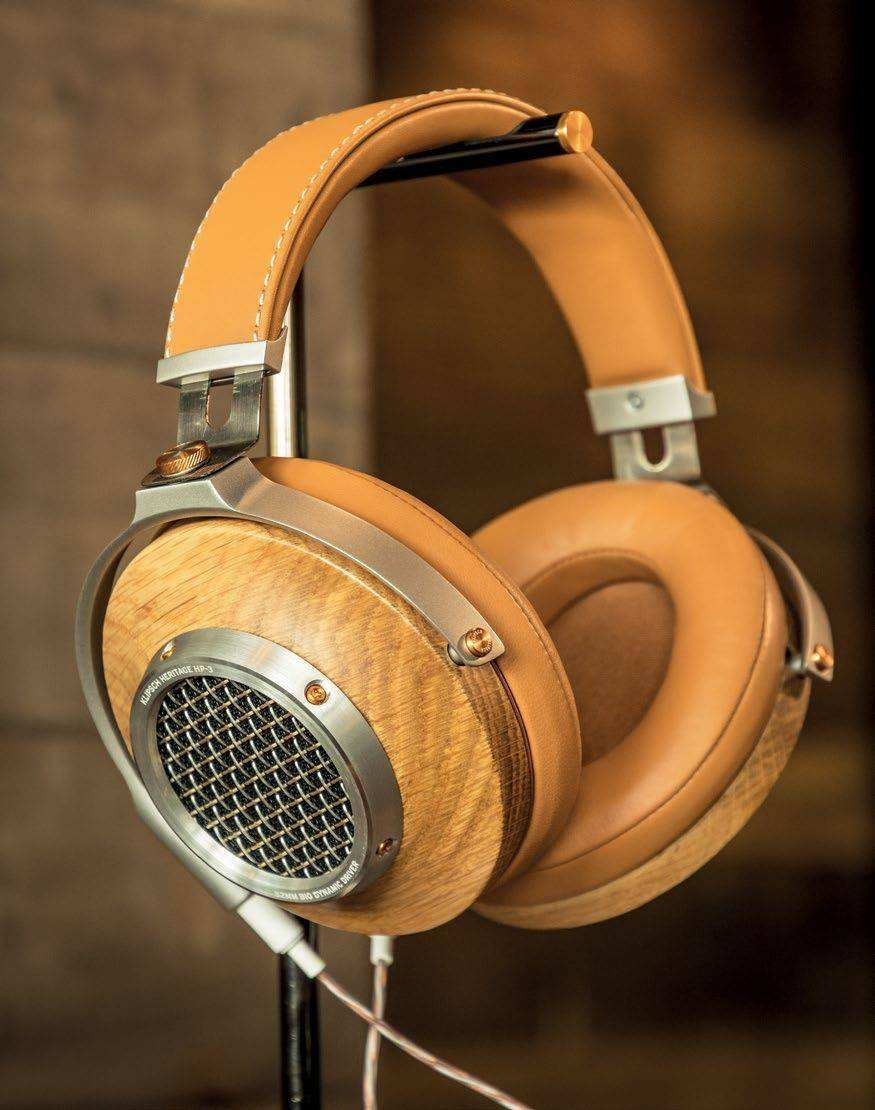 High-end Wooden Headphones