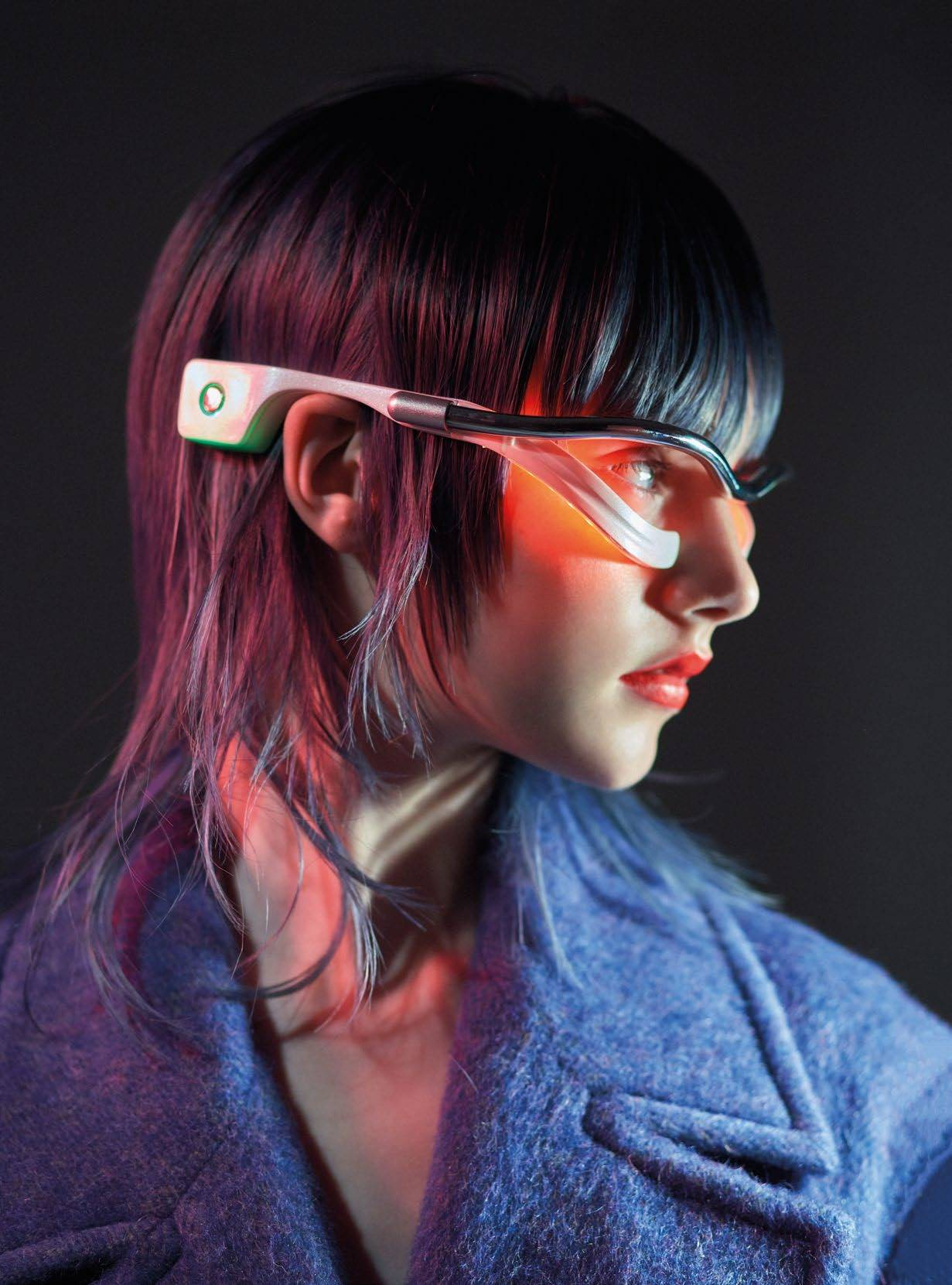 The Anti-ageing LED Glasses For Your Eyes