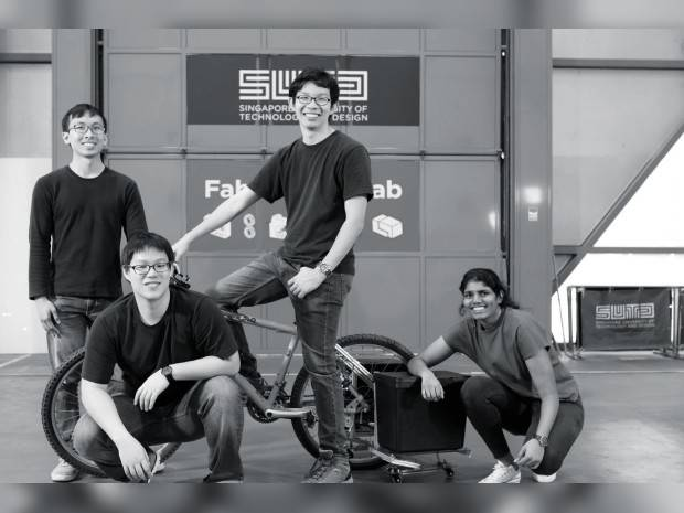 VERSATILE BIKE ATTACHMENT WINS  JAMES DYSON AWARD