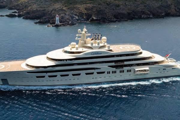 Dilbar Dominates World Superyacht Awards - My Reading Room
